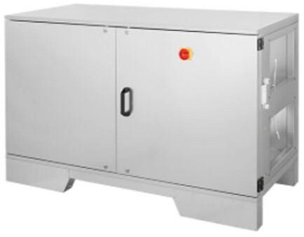 Ruck ETA luchtbehandelingskastmet tegenstroom en elektrisch warmteregister - rechts - 780m³/h (ETA K 600H EO JR)