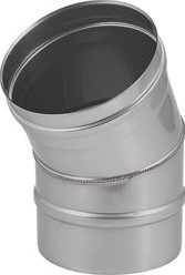 EW diameter  400 mm bocht 30 gr I316L (D0,6)
