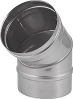 EW diameter  180 mm bocht 45 gr I316L (D0,5)