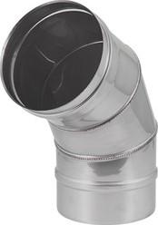 EW diameter  130 mm bocht 60 gr I316L (D0,5)