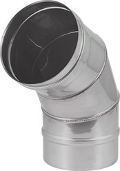 EW diameter  550 mm bocht 60 gr I316L (D0,8)