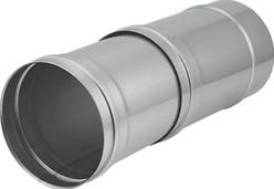 EW diameter  100 mm buis schuifstuk I316L (D0,5)