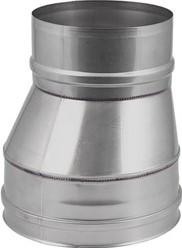 EW diameter  550 mm verloop excentrisch I316L (D0,8)