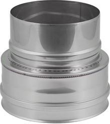 EW diameter  180 mm verloop plat I316L (D0,5)