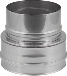 EW diameter  350 mm verloop plat I316L (D0,5)