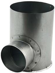 Gegalvaniseerde instortpot Ø125mm - 80mm