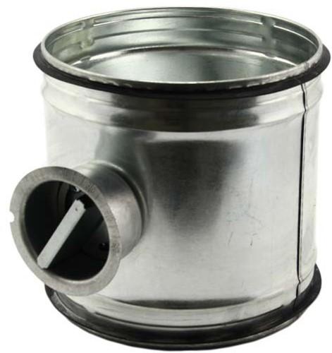 Spiro-SAFE handbediende regelklep Ø 180 mm (sendz. verz.)