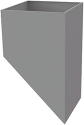 Alfa Compact tussenkast hellend (15-60 graden)
