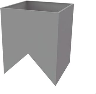 Alfa Compact tussenkast nok (15-60 graden)
