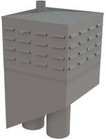 Itho Daalderop schoorsteen (hellend) rechts incl. tussenkast (2x WP200, RGA80, LT80, RO110)