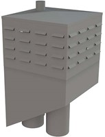 Itho Daalderop schoorsteen (hellend) links incl. tussenkast (2x WP200, RGA80, LT80, RO110