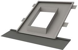 Itho Daalderop schoorsteen indekstuk hellend dak voorzien van loodvervanger (25 - 60 gr.)