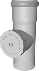 Inspectie t-stuk PP half CLV  Ø110mm
