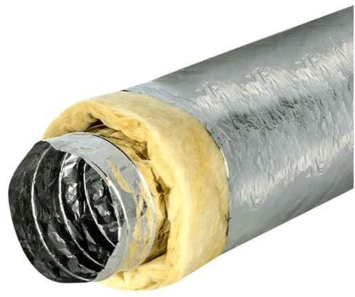 Isodec thermisch 250 mm geisoleerde ventilatieslang (10 meter)
