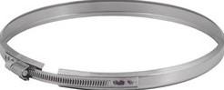 Klemband diameter  125 mm I304 (D0,6)