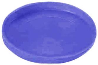 Kunststof deksel  diameter 100mm