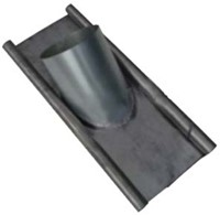 Thermoduct loodslab Ø 125mm