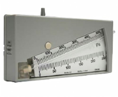 Ruck manometer 0-250 Pa, 0-500 Pa