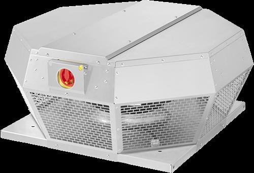 Ruck metalen dakventilator met EC motor en apparaatschakelaar 5430m³/h (DHA 400 ECP 30)