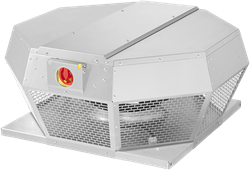 Ruck metalen dakventilator met apparaatschakelaar 450m³/h (DHA 220 E4P 30)