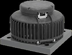 Ruck kunststof dakventilator met apparaatschakelaar en EC motor- 1370m³/h (DHA 250 ECP 20)