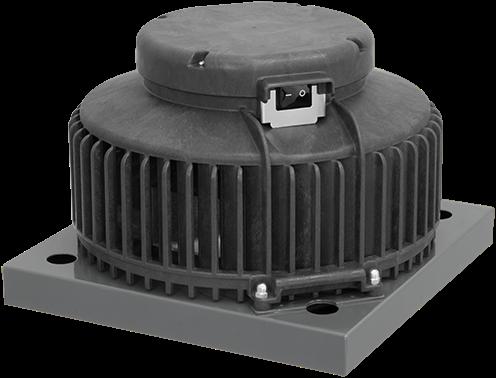 Ruck kunststof dakventilator met apparaatschakelaar - 900m³/h (DHA 220 E2P 01)
