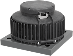 Ruck kunststof dakventilator met apparaatschakelaar - 300m³/h (DHA 190 E4P 01)