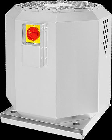 Ruck dakventilator voor keukenafzuiging tot 120°C  - 1990 m³/h - (DVN 250 E2 20)
