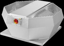Ruck metalen dakventilator met EC motor, werkschakelaar en constante drukregeling 1970m³/h (DVA 280 ECCP 30)