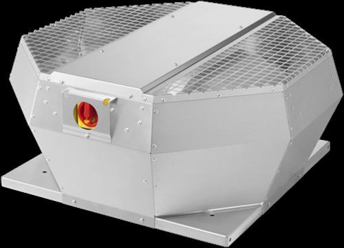 Ruck metalen dakventilator met EC motor, werkschakelaar en constante drukregeling 14115m³/h (DVA 630 ECCP 30)