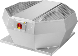 Ruck metalen dakventilator met opendraaiende ventilatie-unit 930 m³/h (DVA 225 E2P 31)