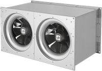 Ruck Etaline kanaalventilator 7150m³/h - 700x400 (ELKI 7040 E2 10)