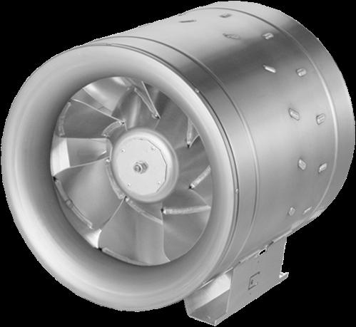 Ruck ETALINE D buisventilator 6910m³/h - Ø 400 mm (EL 400 D2 01)