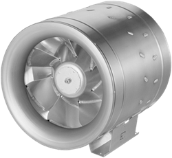 Ruck ETALINE buisventilator met EC motor 8670m³/h - Ø 450mm  (EL 450 EC 10)