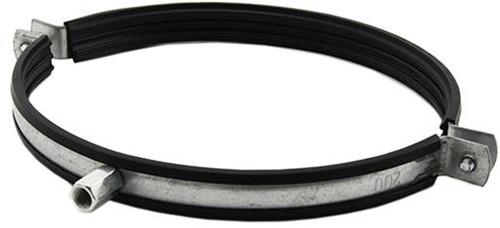 Metalen beugel diameter 150mm met rubber (Sendz. verz.)
