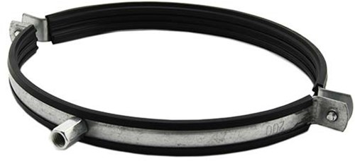 Metalen beugel diameter 250mm met rubber (Sendz. verz.)