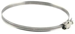 Metalen slangenklem Ø 60mm - 215mm