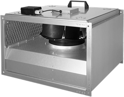 Ruck geïsoleerde kanaalventilator 2865m³/h - 600x350 (KVRI 6035 E4 30)