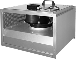 Ruck geïsoleerde kanaalventilator EC-motor 2845m³/h - 600x350 (KVRI 6035 EC 30)