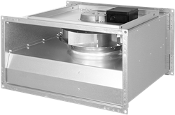 Ruck ongeïsoleerde kanaalventilator EC-motor 12460m³/h - 1000x500 (KVR 10050 EC 30)