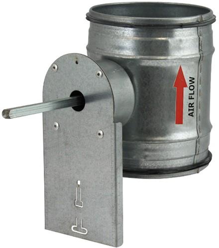 Spiro-SAFE motorbediende regelklep diameter  200 mm (sendz. verz.)