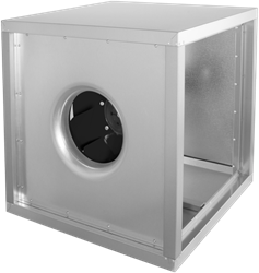 Ruck boxventilator met frequentieregelbare AC motor 3825m³/h (MPC 315 D4 30)