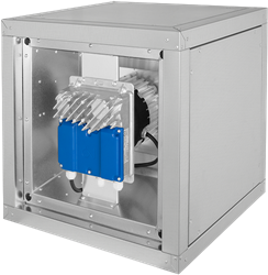 Ruck boxventilator met EC motor buiten de luchtstroom 6710 m³/h (MPC 400 EC T21)
