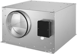 Ruck geïsoleerde boxventilator 3590m³/h -Ø  450 mm (ISOR 450 E4 20)