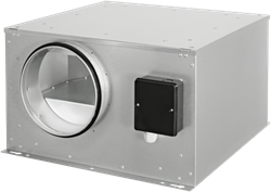 Ruck geïsoleerde boxventilator met EC-motor 480m³/h -Ø 125 mm (ISOR 125 EC 20)
