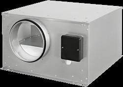 Ruck geïsoleerde boxventilator met EC-motor 1240m³/h -Ø 250 mm (ISOR 250 EC 20)