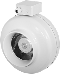 Ruck buisventilator met EC motor 670m³/h - Ø  160 mm (RS 160 EC)