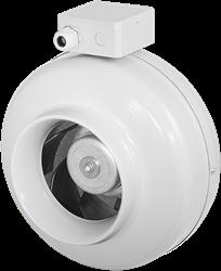 Ruck buisventilator met EC motor 460m³/h - Ø  125 mm (RS 125 EC)