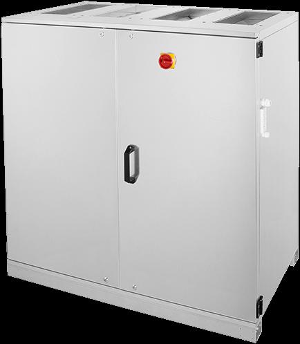 Ruck ETA luchtbehandelingskast met tegenstroom en PWW verwarmer 1410m³/h (ETA K 1200V WO JR)