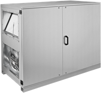 Ruck ETA luchtbehandelingskast met tegenstroom en PWW verwarmer - rechts - 780m³/h (ETA K 600H WO JR)